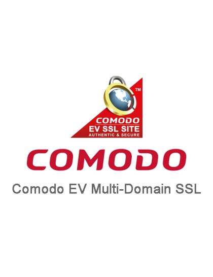 Comodo EV Multi-Domain SSL Certificate
