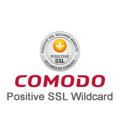 Comodo PositiveSSL Wildcard Certificate