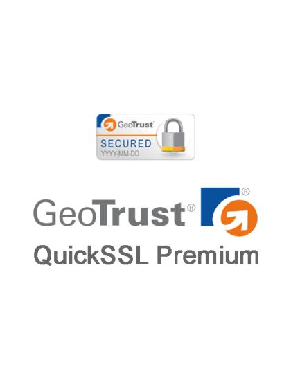 GeoTrust QuickSSL Premium SSL Certificate
