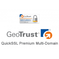 GeoTrust QuickSSL Premium Multi-Subdomain SSL Certificate