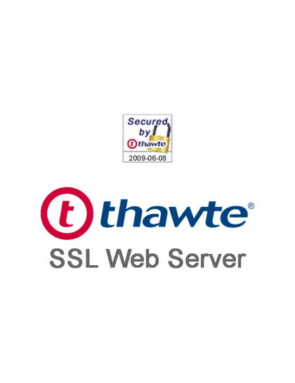 Thawte SSL Web Server SSL Certificate